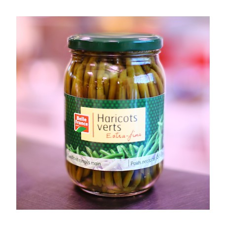 HARICOTS VERTS EXTRA FINS